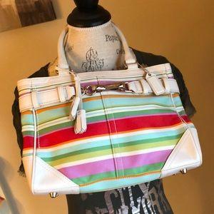 Coach Hampton handbag 10704 EUC
